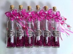 Quinceanera Invitations In A Bottle Scroll Invitation, Debut Invitation, Birthday Souvenir, Quinceanera Invitations, Quinceanera Ideas, Diy And Crafts, Arts And Crafts, Baby Shower Decorations For Boys, Sweet 15