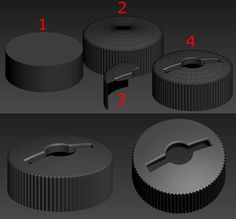 FAQ: How u model dem shapes? Hands-on mini-tuts for mechanical sub-d AKA ADD MORE GEO - Page 140 - Polycount Forum