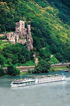 European River Cruises: Scenic Cruises. Luxury Space Ship liner touring Europe, Asia, Australia, China etc.