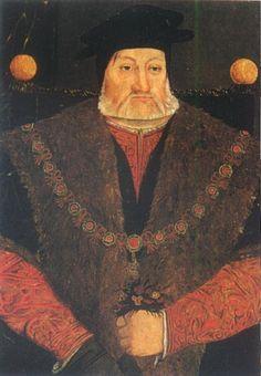 Charles Brandon Duke of Suffolk    gg grandfather