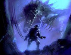 giant monster | Giant Monster Reaching