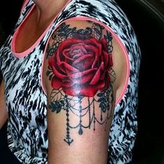 rose tattoo shoulder - Cerca con Google