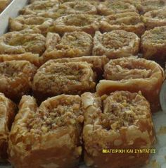 Baking Recipes, Cookie Recipes, The Kitchen Food Network, Greek Sweets, Greek Recipes, Food Network Recipes, Banana Bread, Sweet Tooth, Cookies