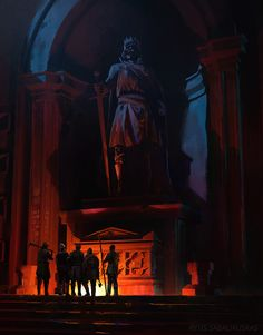 Tomb by Rytis Sabaliauskas   Illustration   2D   CGSociety