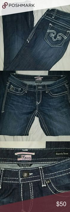 Express jeans Worn twice..Re rock for express barely boot express  Jeans Boot Cut