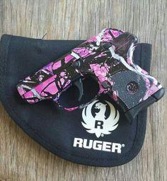 Ruger .380 Muddy girl camo pattern. . I love my gun! !