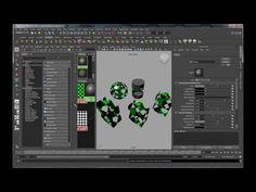 Intro to Maya Fundamentals - Episode 10 Hypershade Material Editor - YouTube