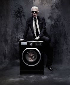 Karl Lagerfeld for Les 3 Suisses