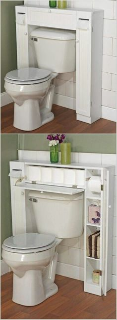 Toilet storage solution