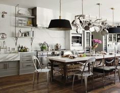 Get the Look : French Industrial Country Kitchen