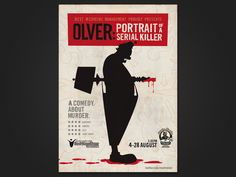 Dickie Dwyer - Mark Olver - Comedy Poster Design