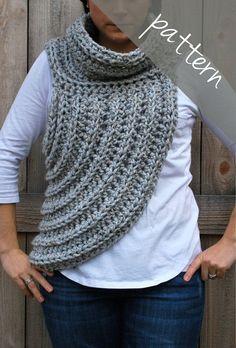 Crochet Pattern - Katniss Cowl - Everdeen Scarf - Hunger… - Crochet Pattern Katniss Cowl Everdeen By Ashleylillishandmade