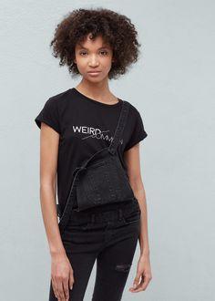 Camiseta algodón modal -  Mujer | MANGO España