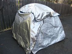 Keeping heat in or out. Simply using a tarp over the outside of the tent will give you lots of insulation! Makes it much warmer!