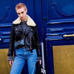 LERA. @LeraAbova during #PFW #FW16 live on:  http://ift.tt/HwTVqf  #Jaiperdumaveste #JPMV #NabileQuenum #StreetStyle #Style #Fashion #FashionWeek #Model #ModelOffDuty #Paris #LeraAbova by jaiperdumaveste