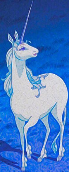 The Last Unicorn, Fantasy Story, Moose Art, Animation, My Favorite Things, Unicorns, Animals, Animaux, Unicorn