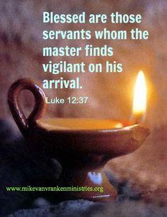 Luke 12:37