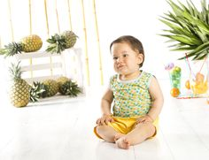 Colección Tropical - Maracuyá #tropical # photoshoot # kids # maracuya #maracuyaperu