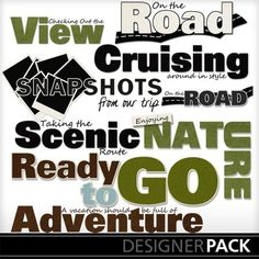 Time To Travel Word Art