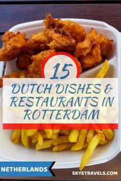 I'm half-Dutch and I was raised on several Dutch dishes made by my grandparents. Thus I made it a point to find the best restaurants in Rotterdam when I visited. Europe Travel Guide, Travel Destinations, Good Foods To Eat, Best Places To Eat, International Recipes, Foodie Travel, Travel Advise, Travel Ideas, Travel Inspiration