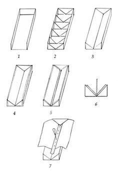 Fabricación casera de una cuna profesional para la perforación de cuadernillos a partir de la utilización de cartón y papel.  Por: Alberto Chiaramonte