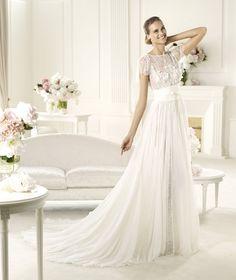 Pronovias te presenta el vestido de novia Lorraine. Elie by Elie Saab 2013. | Pronovias