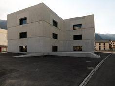 valerio olgiati: visiting center at zernez national park