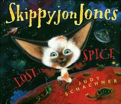 All of the skippyjon jones books are great!  My daughter loves them....  I musty put some rusty in my big boy bed!
