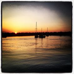 A sunset sail in Hilton Head Island.