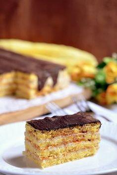 Grízkrémes torta recept