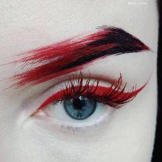Improve makeup with these mac makeup looks Pic# 4477 Makeup Inspo, Makeup Art, Makeup Inspiration, Beauty Makeup, Hair Makeup, Makeup Ideas, Hair Beauty, Fox Makeup, Alien Makeup