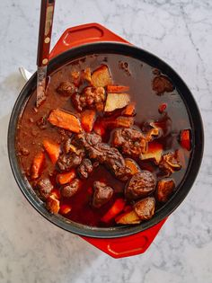 Caribbean Spiced Lamb Stew, by thewoksoflife.com