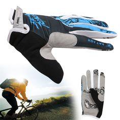 Cycling Gloves Full Finger Mountain Bike Bicycle Gloves GEL Padded Shockproof #Unbranded #FullFinger