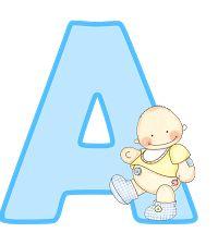 Oh my Alfabetos!: Alfabeto dorado animado, con brillo.