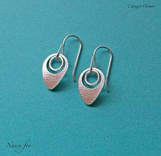 Moonlit Winds - Sterling Silver Earrings