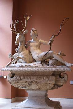 The Huntress, Diana - Louvre