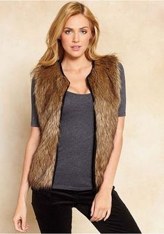 Fur Vest at Alloy Alloy Pin it to win it