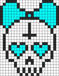Skull With Bow minus the cross.  >.>