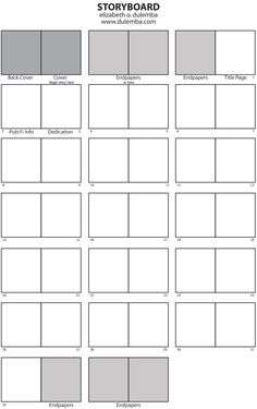 how to make a storyboard for a children's book - Google Search