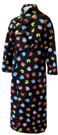 PacMan Ghost Characters Fleece Snugglie Robe for men - EPIC High Neck Dress, Characters, Saturday Night, Videogames, Men, Halloween, Dresses, Gifts, Ideas