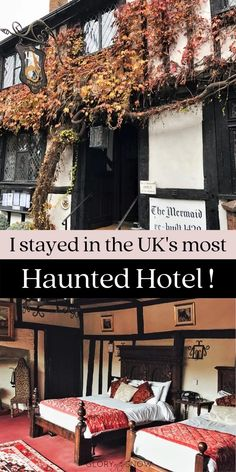 I spent the night at the most haunted hotel in the UK - check out these bone-chilling ghost stories from The Mermaid Inn! haunted hotels, haunted locations, paranormal experiences, places to see in the UK, quirky UK hotels, UK travel, unique hotels, UK weekend ideas, places to see near London, haunted England, ghost stories, ghost sightings, day trips from London, haunted hotel photography, medieval hotels, medieval architecture, old hotels Haunted Hotel, Most Haunted, World Travel Guide, Europe Travel Tips, Amazing Destinations, Travel Destinations, The Mermaid Inn, Glory Of The Snow, Stay The Night