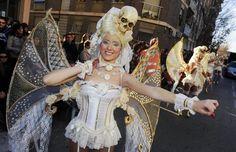 Desfile de Martes de Carnaval en Cabezo de Torres, Murcia
