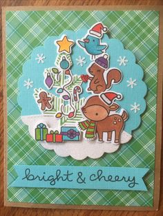 Xmas Cards, Holiday Cards, Winter Karten, Lawn Fawn Stamps, Scrapbook Cards, Scrapbooking, Christmas Crafts, Winter Christmas, Animal Cards