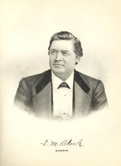 """Colonel Leander M. Black was another of the wealthy pioneers in Montana Territory during the mid 1800's. Black built much of Bozeman, including Bozeman's first bank and a large hotel. Black was the main contractor for the """"Army of the Platte"""" during the Civil War."""