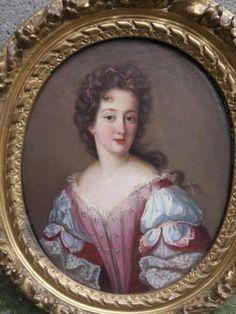 Louis Xiv, Entourage, Bourbon, Daughters Of The King, Baroque Fashion, Madame, Portrait, Versailles, 17th Century
