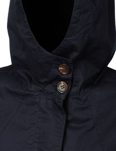 LE3NO Womens Military Long Anorak Jacket with Pockets