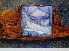Pin by Olga Doutkevitch. Enamel miniature painting