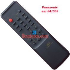Buy remote suitable for Panasonic TV Model: 641550 at lowest price at LKNstores.com. Online's Prestigious buyers store.
