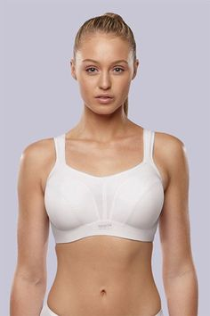 Reduces Bounce by 83%  Panache Encapsulation High Impact Bra - Active Molded Sports Bra - $68