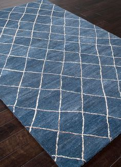 Jaipur Rugs Influenced by moroccan motifs and texture, the riad collection adds a sense of culture to your home. thick pile evokes a sense of warmth and comfort. 4x6 Rugs, 8x10 Area Rugs, Wool Area Rugs, Blue Area Rugs, Wool Rug, Denim Rug, Jaipur Rugs, Clearance Rugs, Moroccan Design